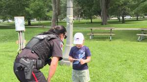 Kingston Police roll out positive ticket program (01:20)