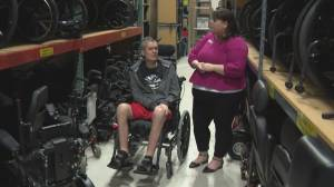 Living with ALS – The importance of advanced equipment
