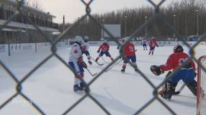 What's Brewing: Braving the cold for the world's longest hockey game (03:23)