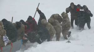 Dozens of rescuers killed as second avalanche hits eastern Turkey