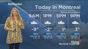 Global News Morning weather forecast: February 18, 2020