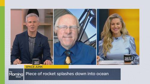 Is it acceptable to let space debris fall anywhere on Earth? | Watch News Videos Online