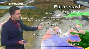Snow returns? Oct. 12 Saskatchewan weather outlook (02:46)