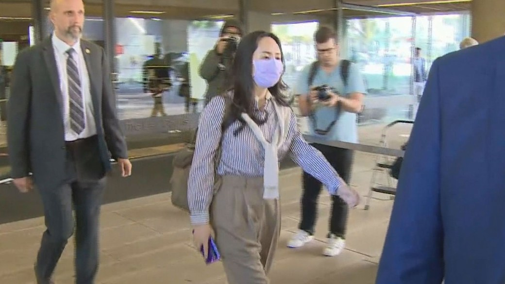 Click to play video 'Meng Wanzhou's lawyers argue U.S. omitted or misstated facts to Canadian officials'