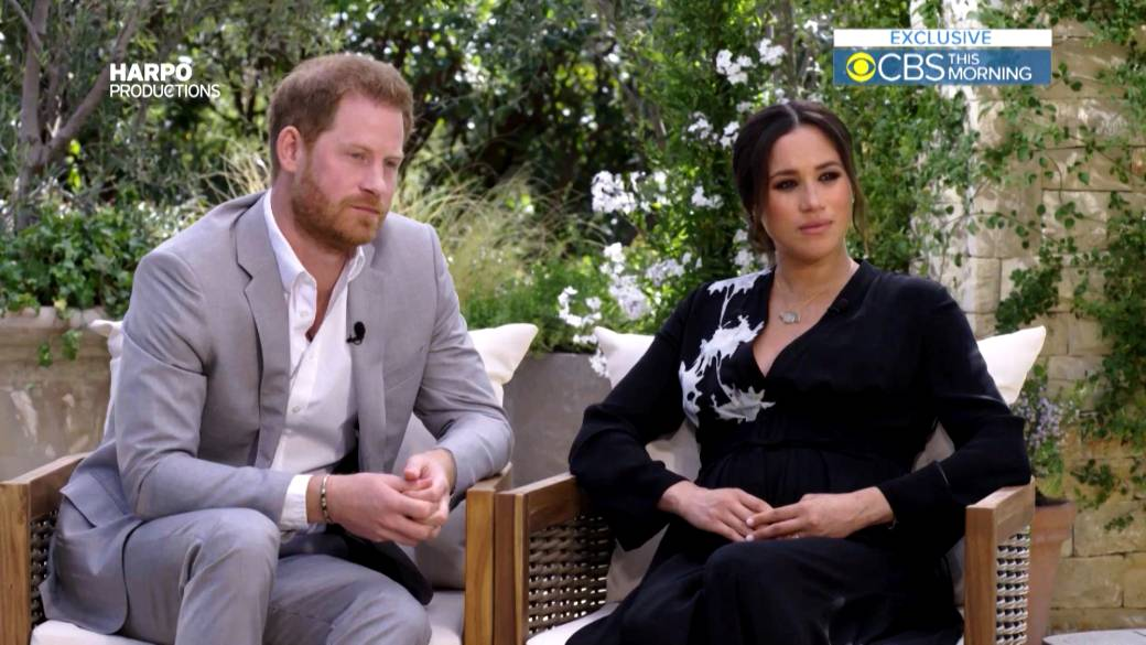 Click to play video: 'Unaired 'Oprah with Meghan and Harry' clips shed more light on royal rift'