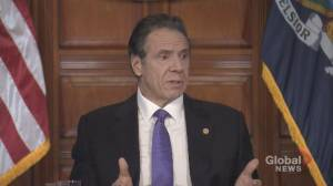 Coronavirus outbreak: Cuomo says NYPD should be 'more aggressive' in enforcing social distancing