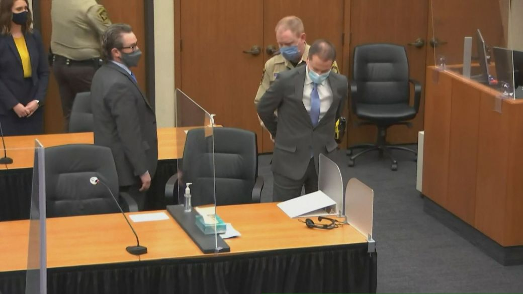 Click to play video: 'Chauvin verdict: what happens next with the police officer's sentencing?'