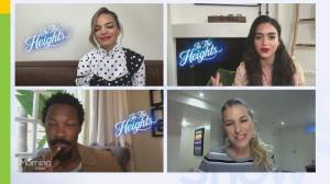 Catching up with the cast of 'In the Heights' on premiere day (02:42)
