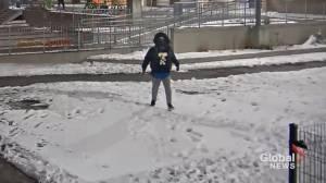 Ottawa police seek York Street shooting suspect (00:37)