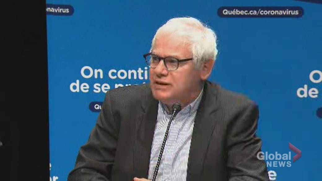 Click to play video 'Coronavirus: Quebec urges people to get screened quickly for COVID-19'