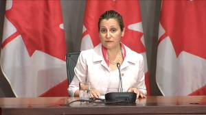 Freeland says in her experience 'assault-style' weapons have no place on the farm (00:50)