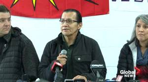 Wet'suwet'en chief says trains can pass through once all RCMP have left their territory