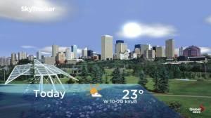 Edmonton early morning weather forecast: Thursday, September 5, 2019