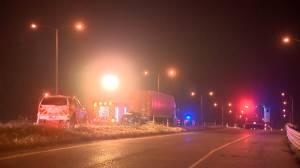 Calgary police investigate fatal crash on Stoney Trail Southeast