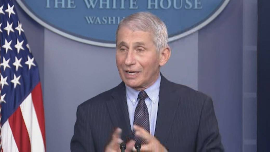 Click to play video 'Coronavirus: Fauci says vaccines work on 'mutant' variants, but there is plan to adjust if needed'