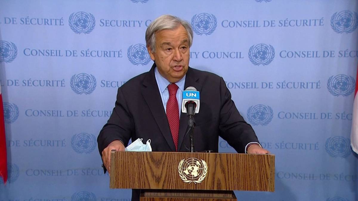 Click to play video: 'U.N. chief calls on Taliban to halt Afghanistan offensive 'immediately''