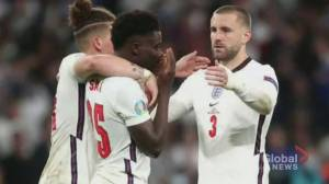 English players targeted by racist attacks after Euro 2021 loss to Italy (02:01)