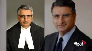 Edmonton-raised Mahmud Jamal nominated as first person of colour to Supreme Court of Canada (01:34)