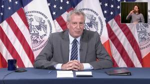 De Blasio promises court fight if Trump sends federal troops into NYC (01:15)