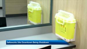Supervised consumption site at Sheldon M. Chumir Health Centre to close (02:28)