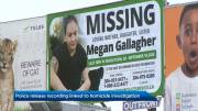 Play video: Saskatoon police release call from Megan Gallagher's phone as homicide investigation continues