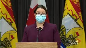 New Brunswick health officials issue dire warning as COVID-19 spread continues (01:50)