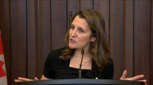 Freeland tables CUSMA bill as House resumes sitting