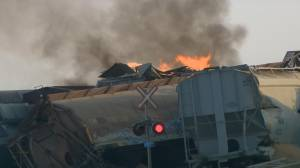 Old rail, gap in rail surface factors in CN train derailment near Saskatoon: TSB