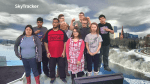 Newest class of SkyTrackers from Tommy Douglas School