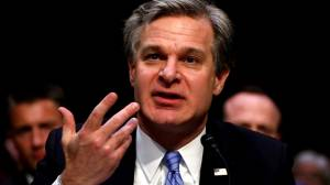 Trump criticizes FBI director Wray in wake of IG report