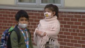 Canada's largest school board welcomes back students in pandemic