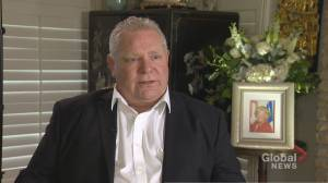 Premier Doug Ford reacts to Tehran plane crash, unrest