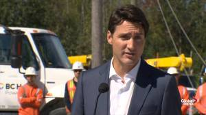Trudeau slams Scheer: It's not enough to reluctantly support same-sex marriage, abortion
