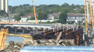 Kingston's third crossing 60% complete (02:13)