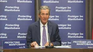 Manitoba premier highlights government investments in healthcare sector as legislative session ends (01:44)