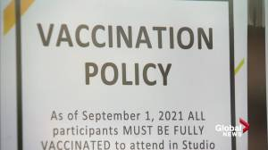 Alberta government resisting vaccine passport system even as businesses demand it (01:58)