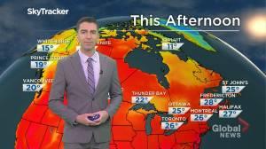Saskatchewan weather outlook: July 22