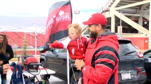 No Labour Day Classic, no problem for Calgary tailgaters