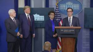 Coronavirus outbreak: Mnuchin says support for airlines is 'not a bailout'