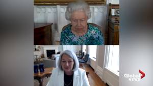 Incoming governor general Mary Simon has virtual audience with Queen Elizabeth (00:47)