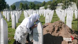 World leaders mark 25th anniversary of Srebrenica massacre