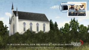 New Canada Post stamp honours Black settlers to Willow Grove, N.B. (01:47)