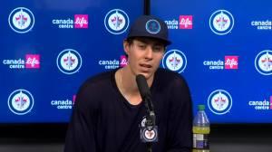 RAW: Winnipeg Jets Pierre-Luc Dubois & Logan Stanley Interview – Sept. 26 (05:51)