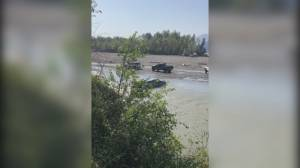 Off-road driving continues in delicate salmon habitat (02:06)