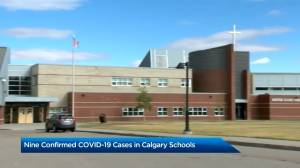 COVID-19 cases confirmed at multiple Calgary schools