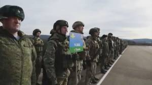 Global concern rises over Russian troops nearing Ukraine border (02:01)