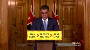 Coronavirus outbreak: U.K. sees additional 563 COVID-19 deaths, bringing total fatalities to 2,352