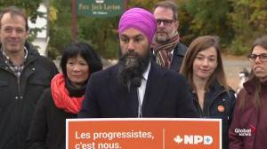 Federal Election: Singh says NDP have unique plan for Quebec