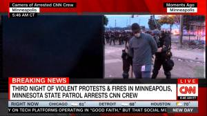 CNN  crew arrested on-air while reporting on protests in Minneapolis