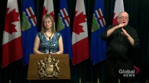 Hinshaw says number of hospitalizations or deaths is 'up to us' as Albertans